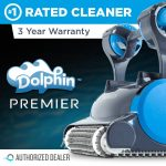 2017 Dolphin Premier Robotic In-Ground Pool Cleaner Review