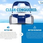 Aquabot X4: A High Tech Pool Cleaning Robot Companion