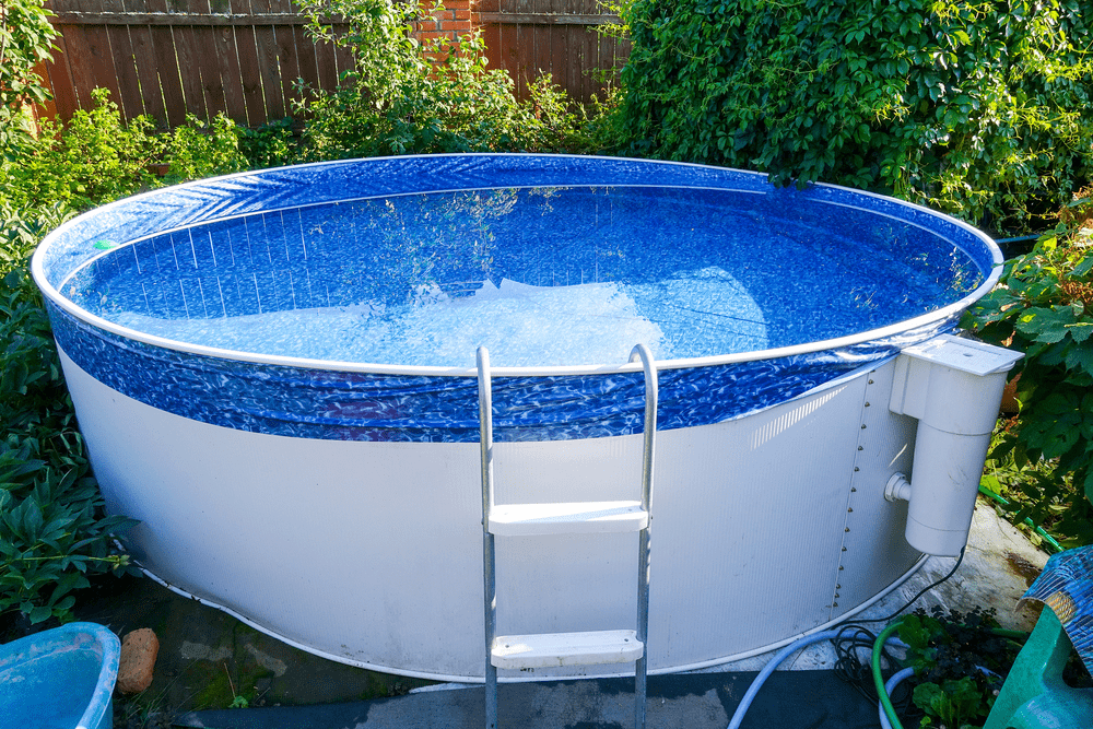 Complete guide how to fix an unlevel pool without draining - Above ground swimming pools reviews ...