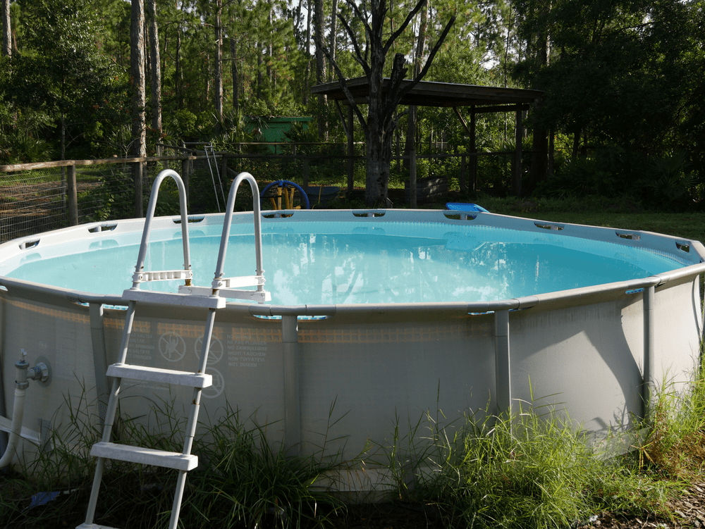Pool installation what to put under above ground pool on - How to build an above ground swimming pool ...