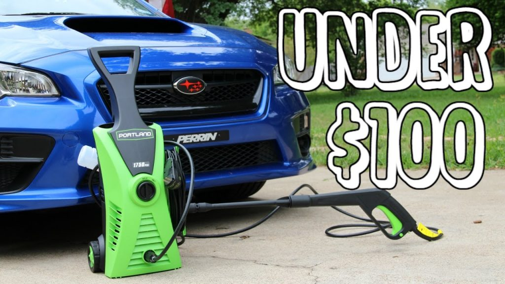 Top 10 Best Pressure Washers Under 100 In 2020 Reviews
