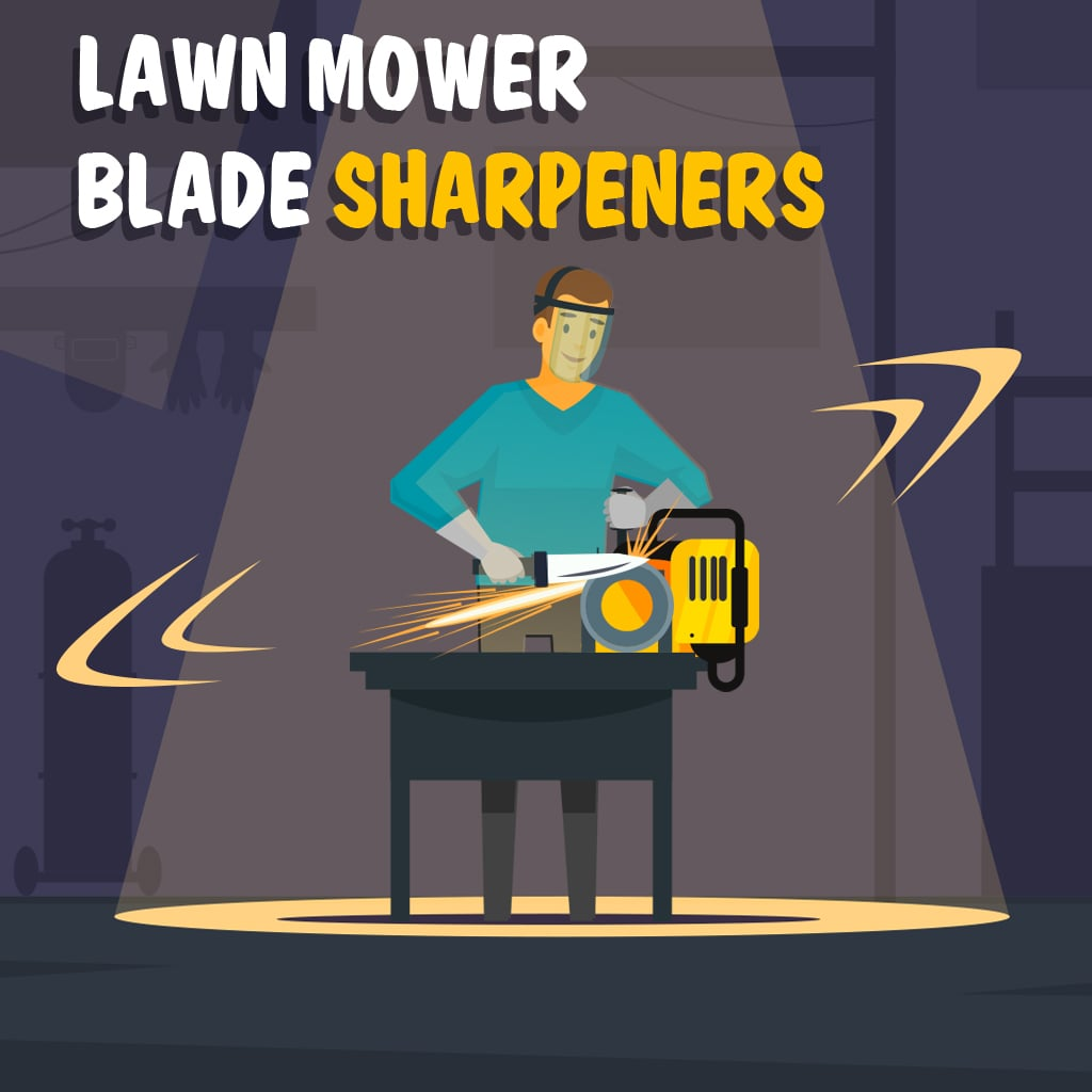 Cool The 7 Best Lawn Mower Blade Sharpener 2019 Reviews Updated Cjindustries Chair Design For Home Cjindustriesco