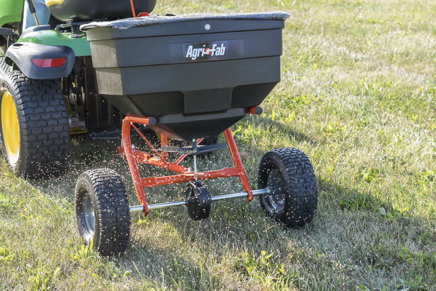 Tow Behind Broadcast Spreader