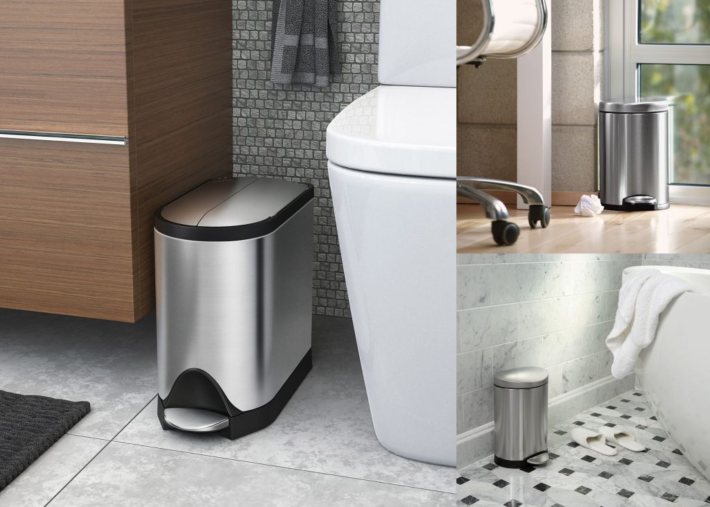 Top 12 Best Bathroom Trash Can Reviews & Guide 2019