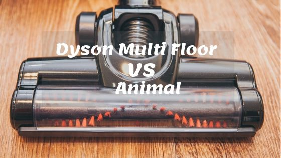 Dyson Multi Floor vs Animal