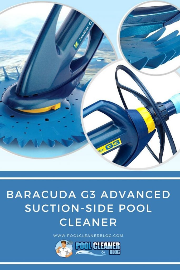 Baracuda G3 Advanced Suction-Side Pool Cleaner