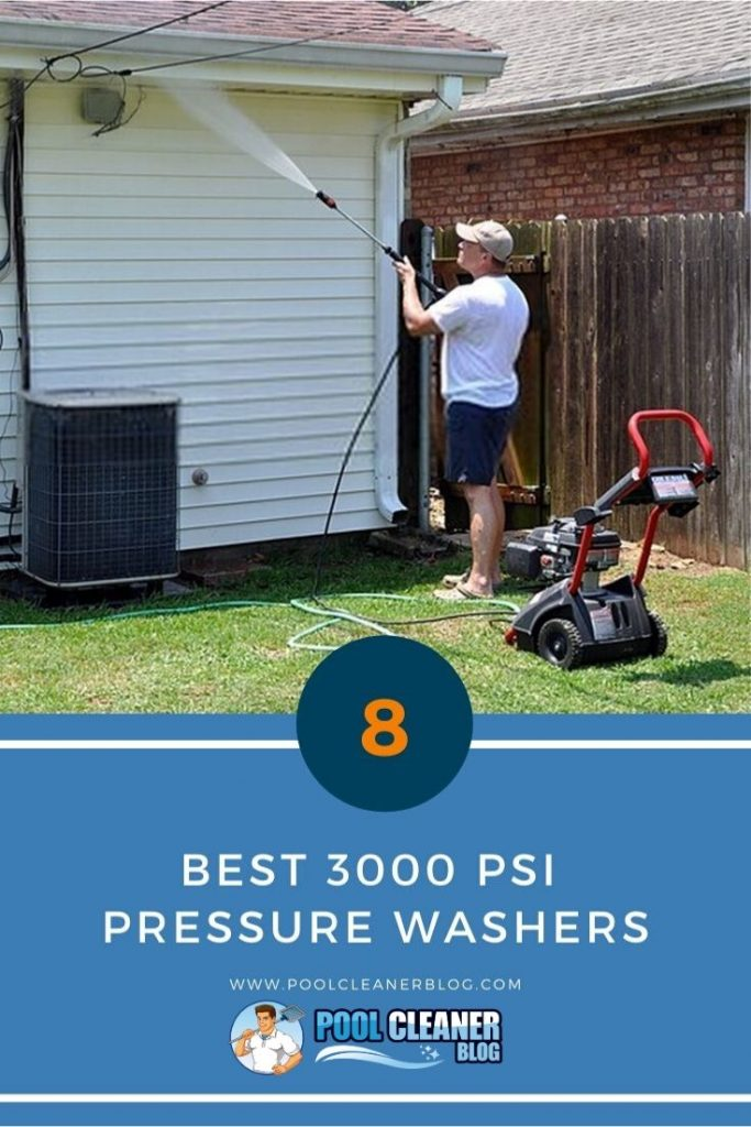 Best 3000 PSI Pressure Washers