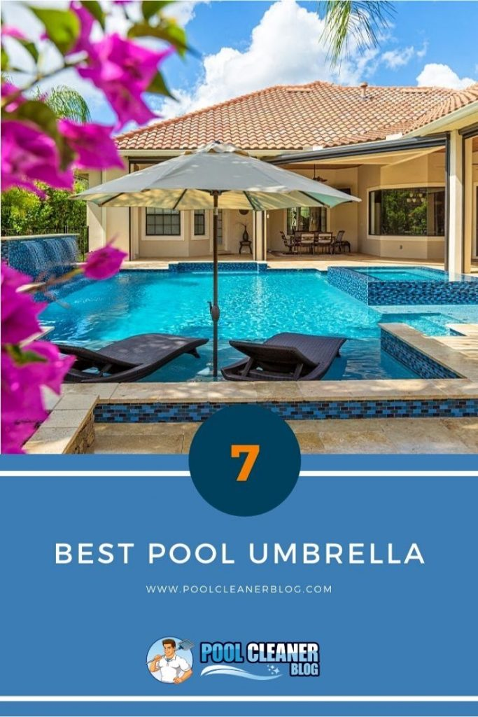 The 7 Best Pool Umbrella 2020 Reviews Outdoor Inside Pool