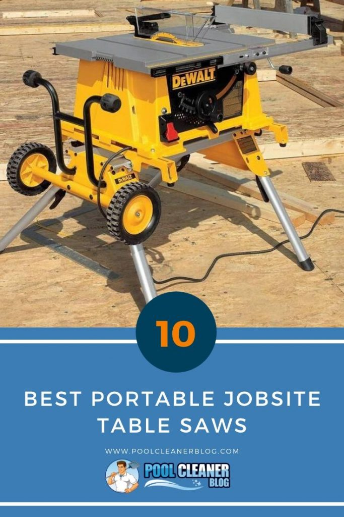 Best Portable Jobsite Table Saws