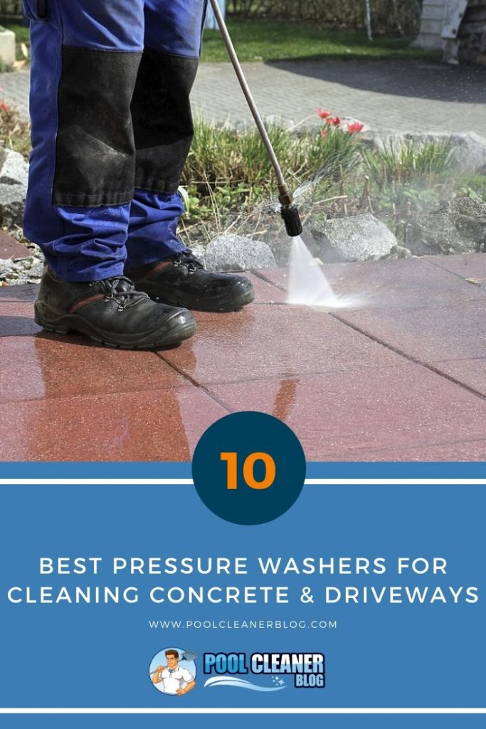 Best Pressure Washers for Cleaning Concrete & Driveways
