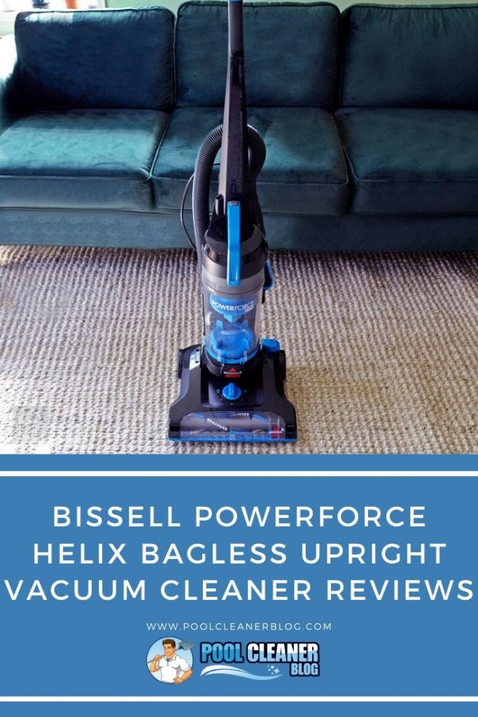 Bissell Powerforce Helix Bagless Upright Vacuum Cleaner Reviews