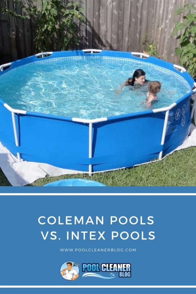 Coleman Pools vs. Intex Pools