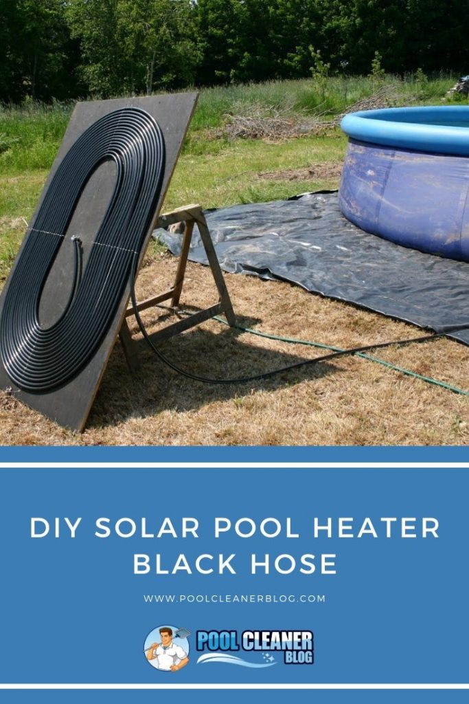 DIY Solar Pool Heater Black Hose