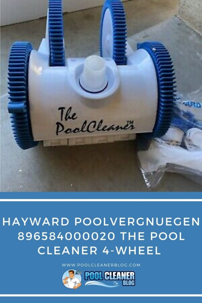 Hayward Poolvergnuegen 896584000020 The Pool Cleaner 4-Wheel