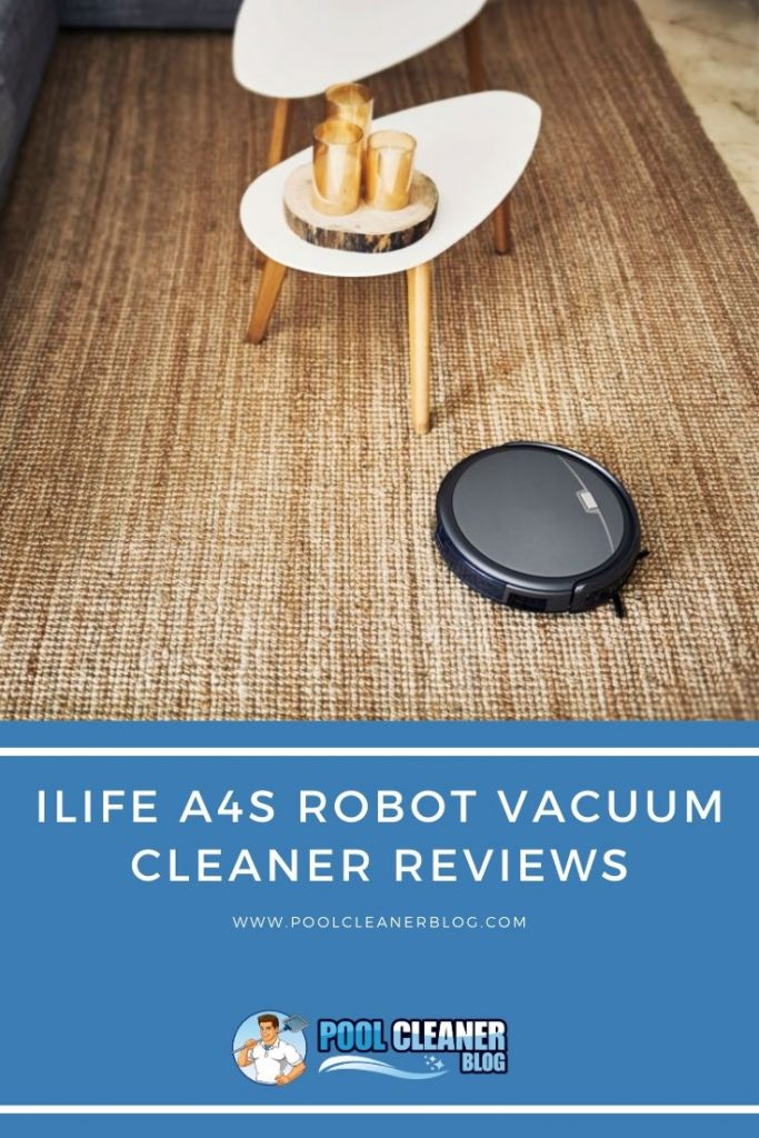 ILIFE A4s Robot Vacuum Cleaner reviews