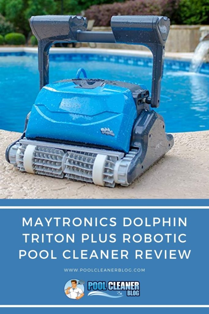 Maytronics Dolphin Triton Plus Robotic Pool Cleaner Review