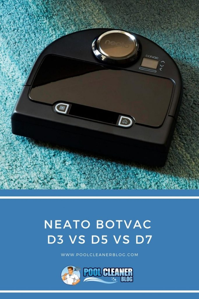 Neato Botvac D3 vs D5 vs D7