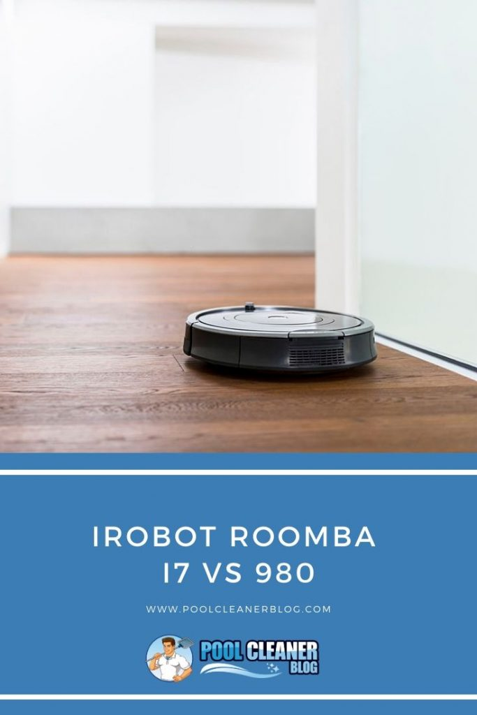 iRobot Roomba I7 vs 980