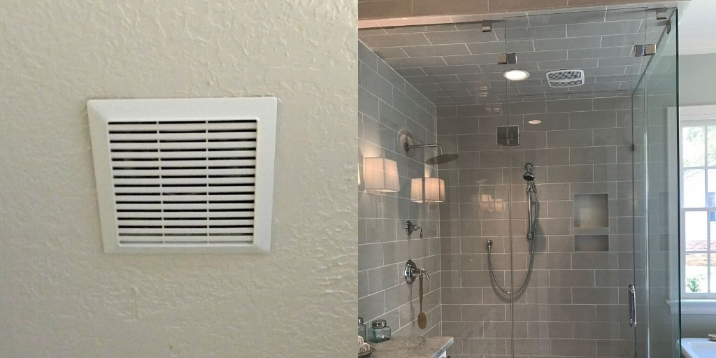 Bathroom Exhaust Fan with Humidity Sensor