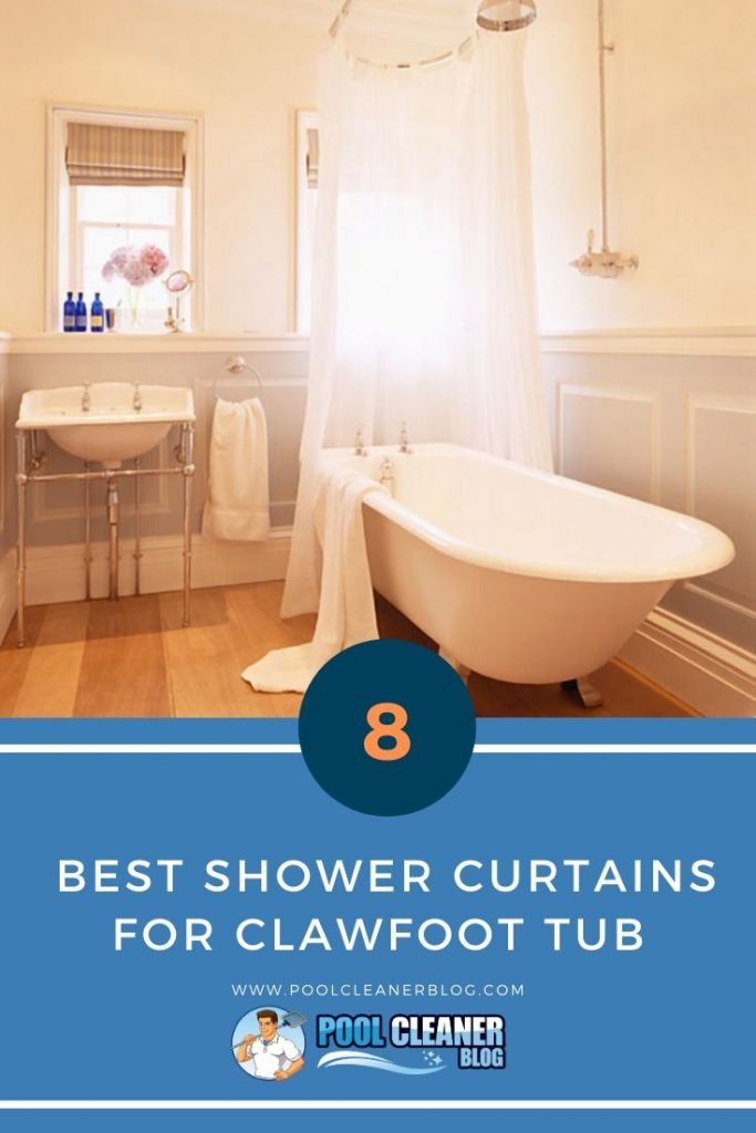 Best Shower Curtains for Clawfoot Tub