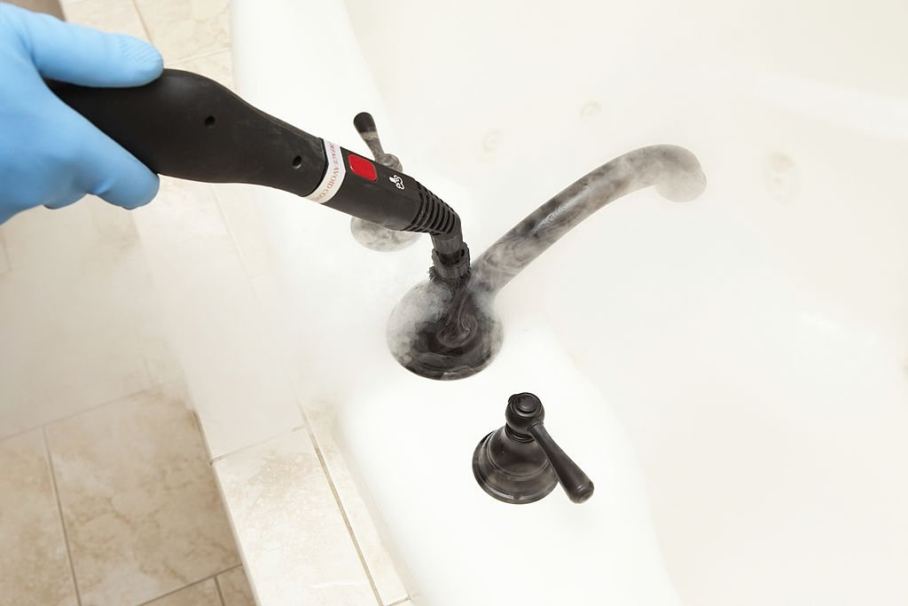 Bathroom Steam Cleaner